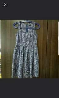 GG5 Brocade Print Dress