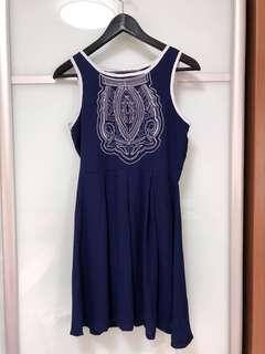 🚚 TSW Navy Blue Dress