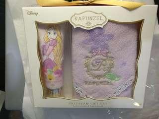 Disney RAPUNZEL Daydream Gift Set (hand cream & hand towel)