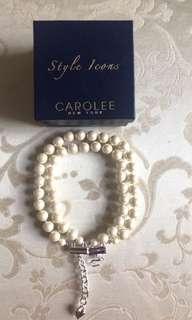 Carolee珍珠項鍊手鍊
