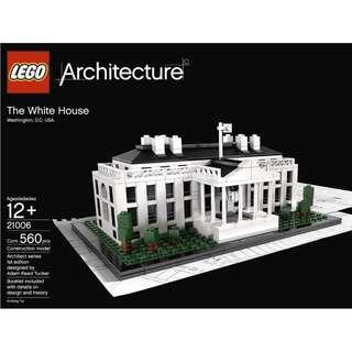 LEGO Lego Architecture bundle of 5 sets (21006, 4000016, 21023, 21032, 21039)