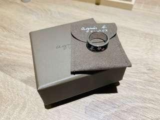 Agnes b不鏽鋼 戒指