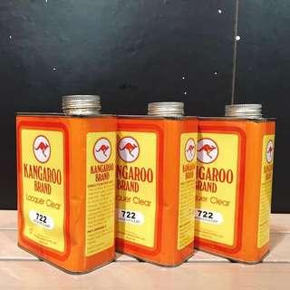 Kangaroo Lacquer Clear 722