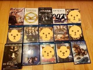 電影DVD BLU-RAY任揀 (Blu-ray大部份已售,請留意)