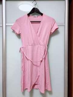 Bershka Wrap Dress