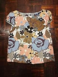 Zara Flowery Top