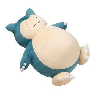 🚚 Giant Snorlax Soft Toy