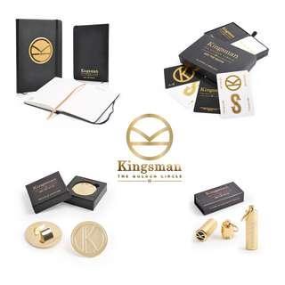 🚚 「 New Unused 」Kingsman - The Golden Circle Movie Premium Set