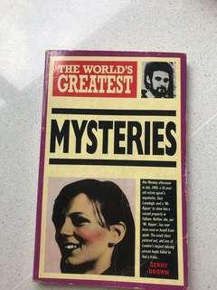 🚚 The World's Greatest Mysteries