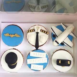 Custom Homemade Cupcake