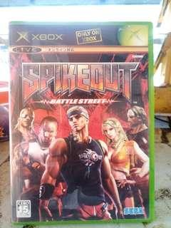 Xbox Game SPIKEOUT Battle Street