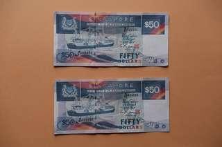 50 dollar ship note