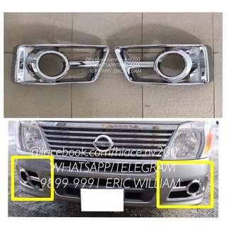Nissan Urvan Van E25 Fog Light Cover / URVAN Accessories >>READY STOCKS!!