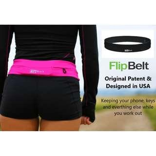 🚚 Authentic FlipBelt to Store Phone and Keys While Running