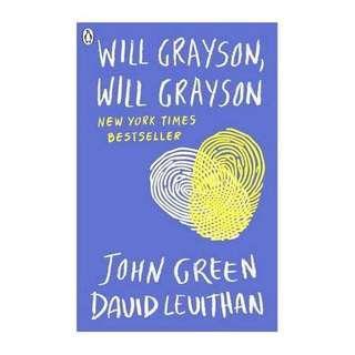 🚚 Will Grayson Will Grayson (John Green)