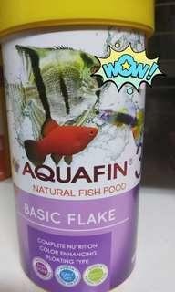 Aquafin Fish Food! Basic Flakes !