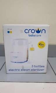 Crown Sterilizer 3 bottles
