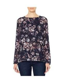 Witchery Double Layer Blouse | Size 10