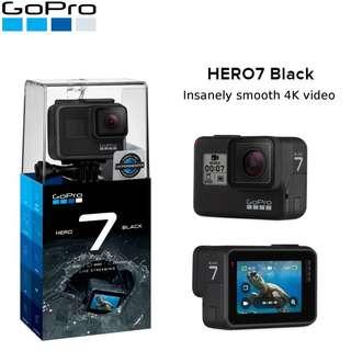 GoPro Hero 7 Black with Accessories