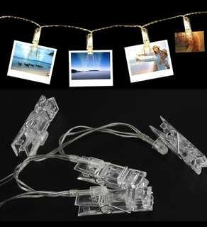 🚚 LED photo clip (2m)