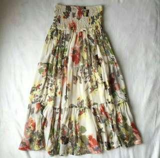 Long skirt Branded