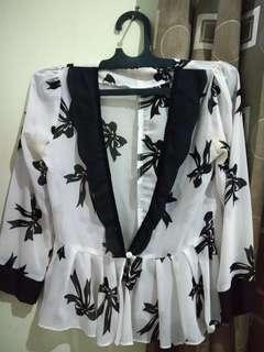 Outwear/Blazer Motif Pita