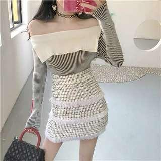 🚚 針織半身裙 A字裙 包臀裙