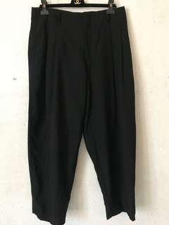 Comme des Garcons wool high-waisted trousers