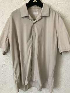 Prada stretch cotton button down