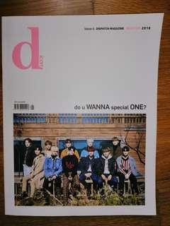 🚚 [SALE] Wanna one dicon magazine