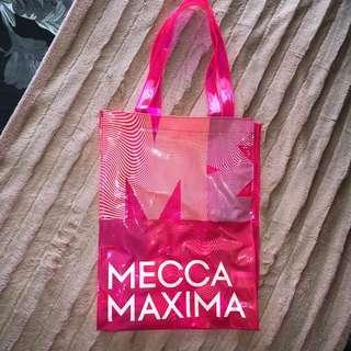 Mecca Beauty tote bag