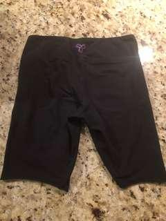 Aritzia TNA Black Biker Shorts