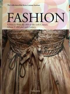 🚚 Fashion: A history from the 18th to the 20th century Volume 1: 18th and 19th century