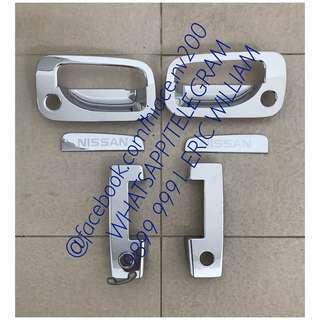 Nissan URVAN E25 Van Doors Handle Chrome Trim / URVAN Accessories >>READY STOCKS!!