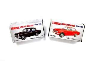 Tomica Tomytec Diecast Car LV-25d and LV-150b
