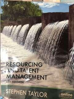 Resourcing and Talent Management by Stephen Taylor