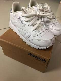 authentic reebok clasic leather pastel infants