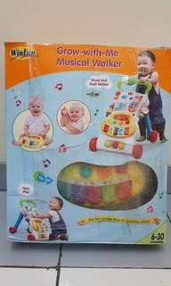 Musical walkers Grow with me