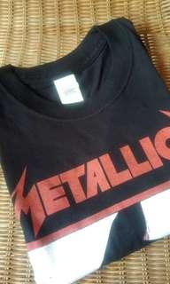 🆕 (Free 📮Flexi )Metallica 1983 Black Band Tshirt