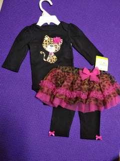 型格B B套裙褲適合3-6month