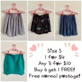 ❤️Any 3 for $10 - Size S (B1)