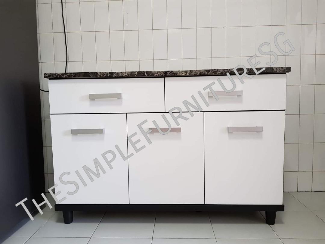 1 2m 3 Doors Kitchen Cabinet Warehouse Sale Furniture Shelves