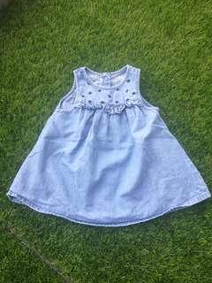 PreLove Baby Dress Jeans 3-6 month