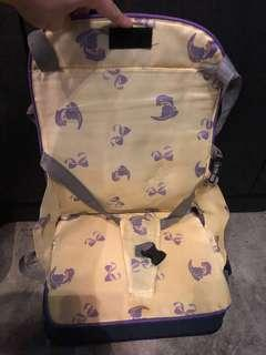 Travel baby chair seat