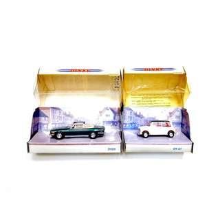 Matchbox Dinky Diecast Car Lot of 2 Model no. DY21 Yr. 1990 & DY028/B Yr. 1993