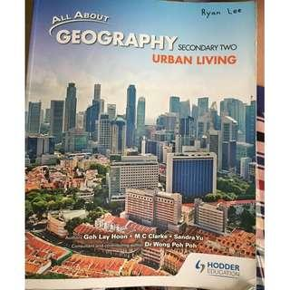 Urban Living secondary two Geography textbook