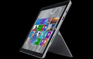 Microsoft Surface Pro 4th gen - i7, 8GB Ram, 256GB SSD
