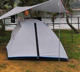 迪卡儂 露營帳篷 3人 tent for camping