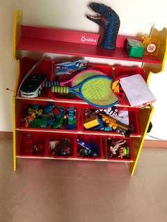Toy rack