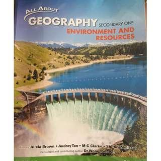 Environment and Resources Secondary One textbook